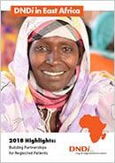 Screenshot cover DNDi Africa Highlights 2018