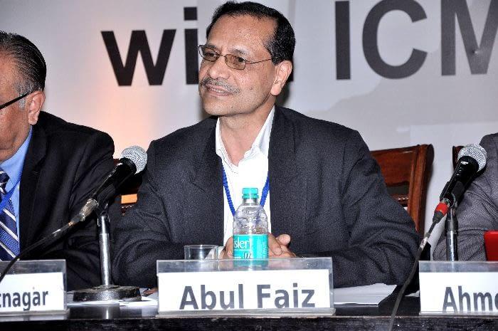 Dr. Abul Faiz, Sir Salimullah Medical College, Bangladesh, panelist in Session 3