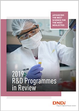 DNDi R&D Programmes in Review coverpage