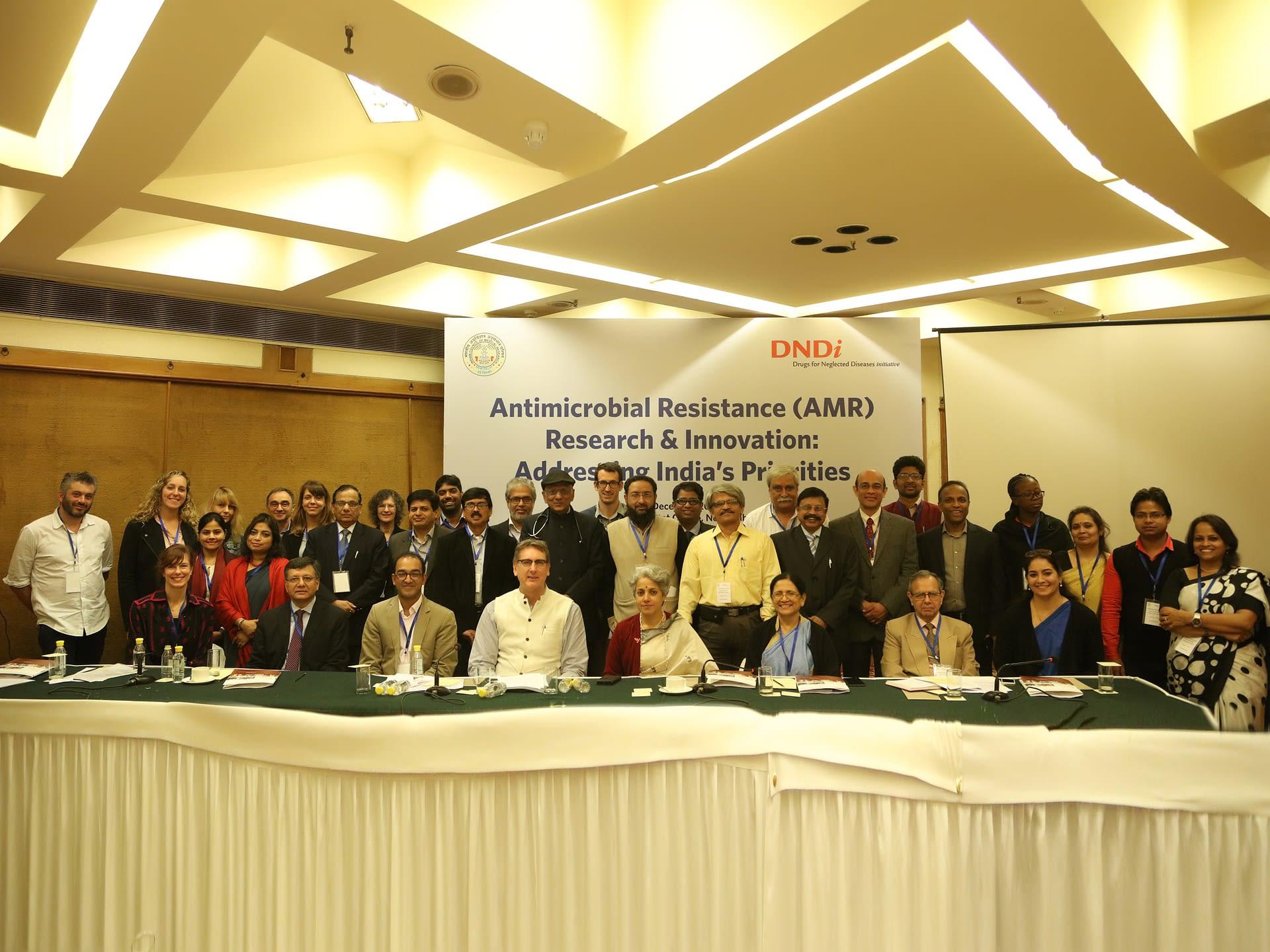 Participants at AMR Meeting in Delhi, India
