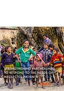 Cover page of the DNDi in India Brochure released in 2019