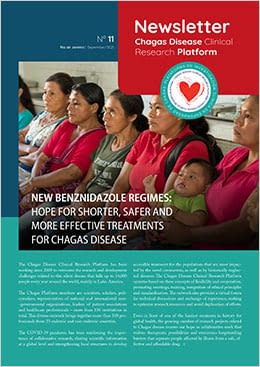 Coverpage Chagas Clinical Research Platform Newsletter N°11