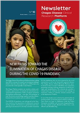 Cover page Chagas Clinical Research Platform Newsletter No. 10