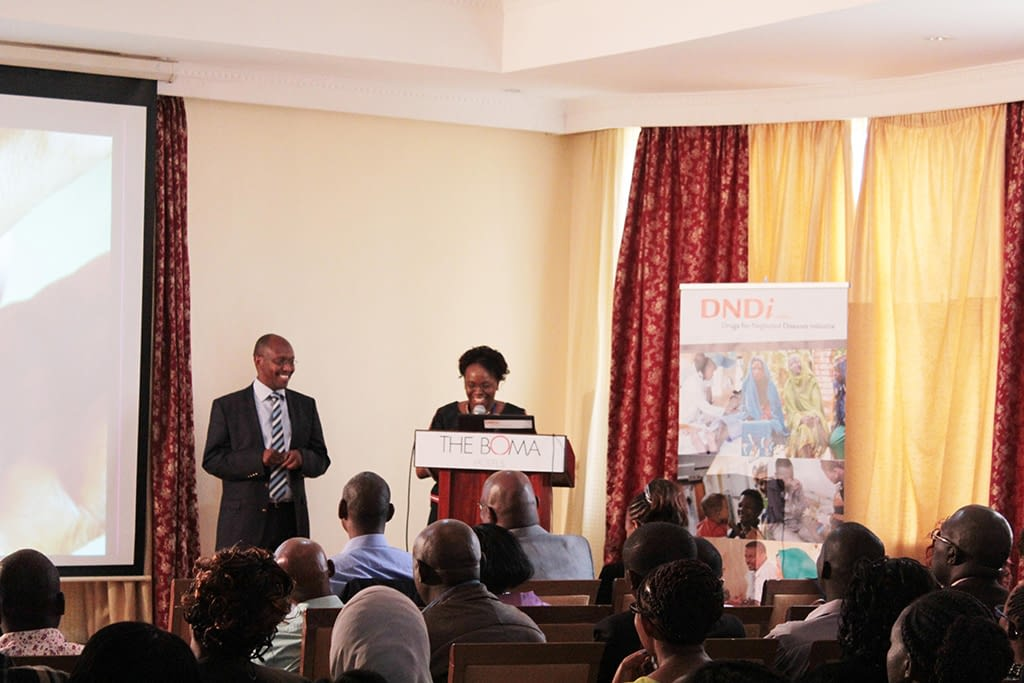 Monique Wasunna, Director DNDi Africa welcomes Robert Kimutai