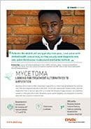 Cover page mycetoma factsheet