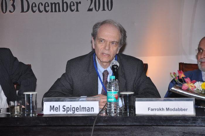 Dr. Mel Spigelman, President & CEO, Global Alliance for TB Drug Development, panelist during Session 3