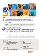 Cover page hepatitis C factsheet