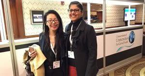 Annie Liang and Simran Dhunna