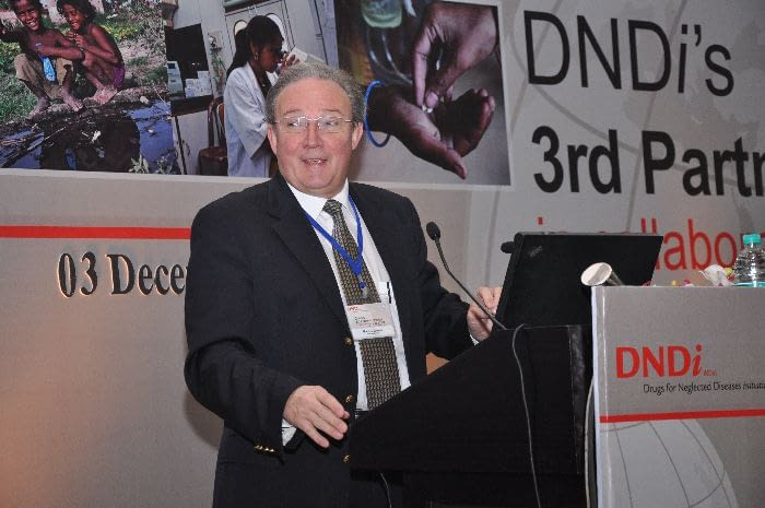 Welcoming remarks – Marcel Tanner, Director of the Swiss Tropical and Public Health Institute, Chair of DNDi Board