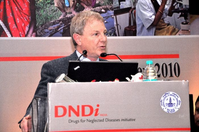 Dr. Rob Don, Discovery & Preclinical Director and Head of HAT Discovery & Preclinical Program, DNDi, presenting in Session 2
