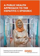 Front page of the hepatitis C 2018 update