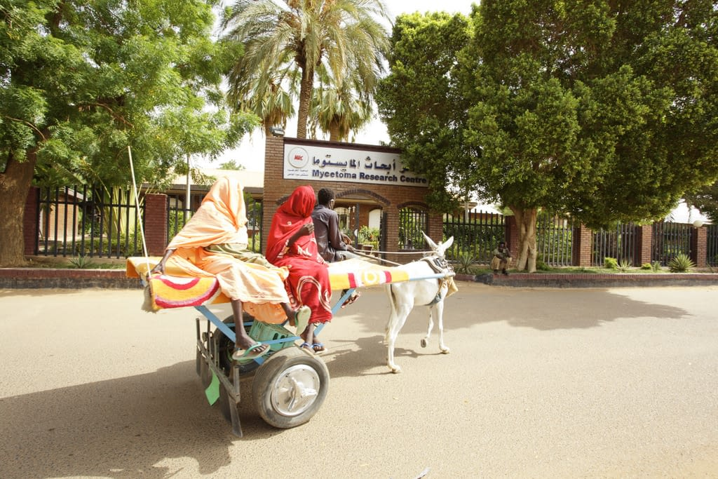 Patients are very poor. It is common for them to come in a donkey cart.
