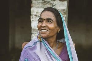 Woman in India