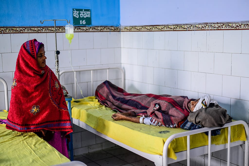 VL patient under treatment in Sadar Hospital Chapra