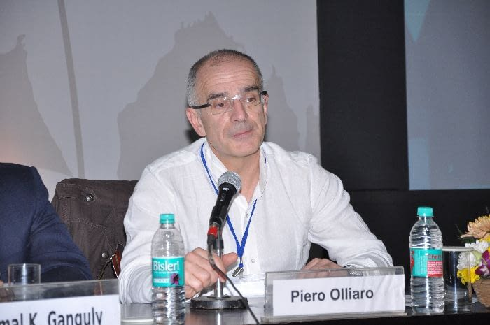 Dr. Piero Olliaro, WHO/Special Programme for Research and Training in Tropical Diseases (TDR), panelist during Session 3