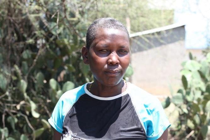 Nancy Cheluo had two sons affected by Kala Azar. East Pokot, Kenya.