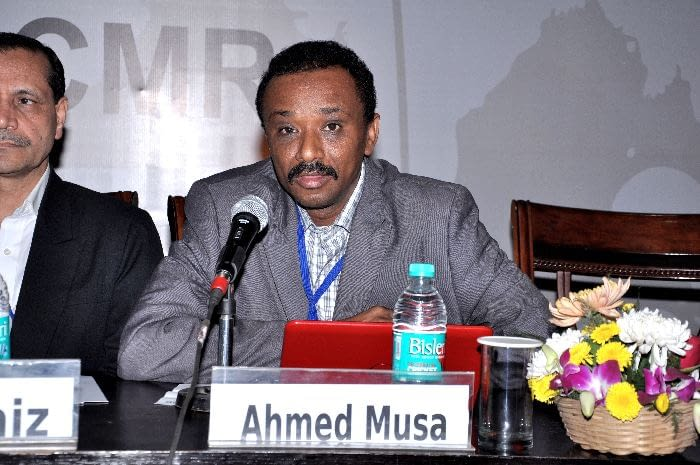 Dr. Ahmed Musa, IED, Sudan & Chair LEAP Platform, panelist in Session 3