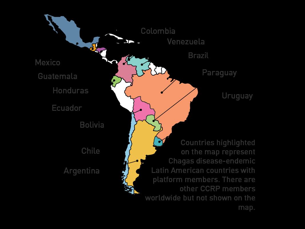 Chagas Platform Map