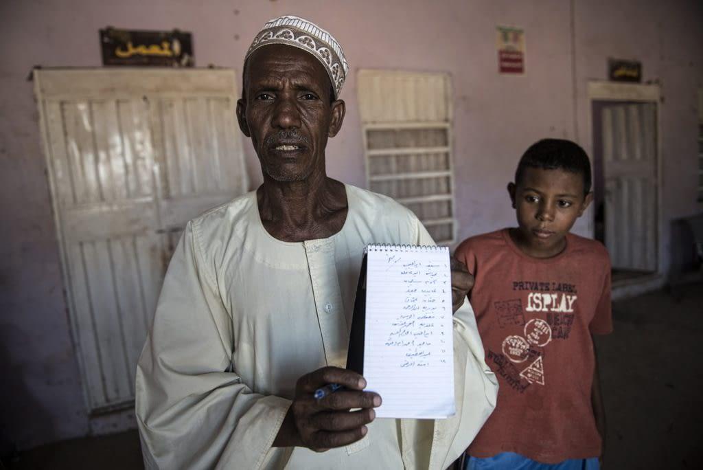 Village Elder Yousid Gaffer