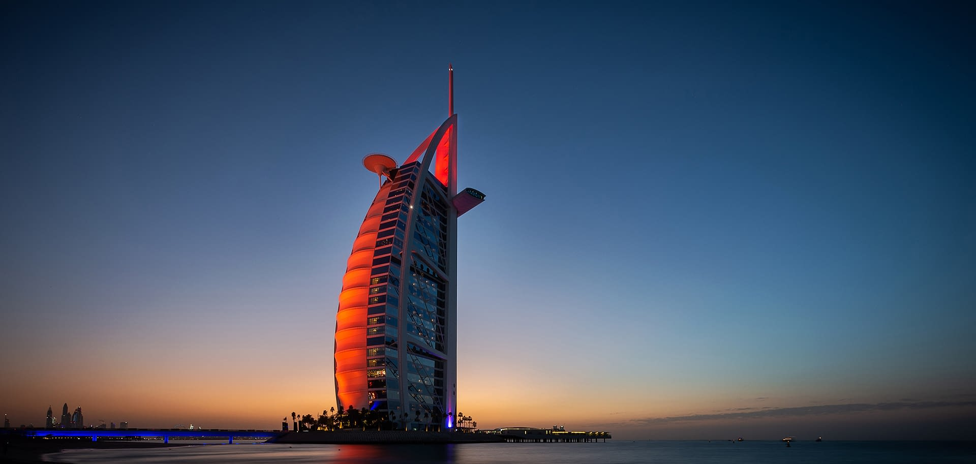 Burj Al Arab, Dubai, United Arab Emirates by Jonathan Walley