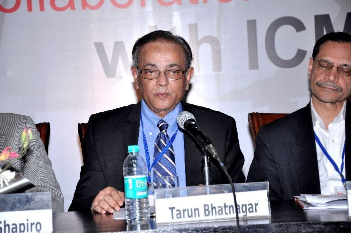 Dr. Tarun Bhatnagar, MD, Resident Director - Corporate Affairs, sanofi-aventis India, panelist in Session 3