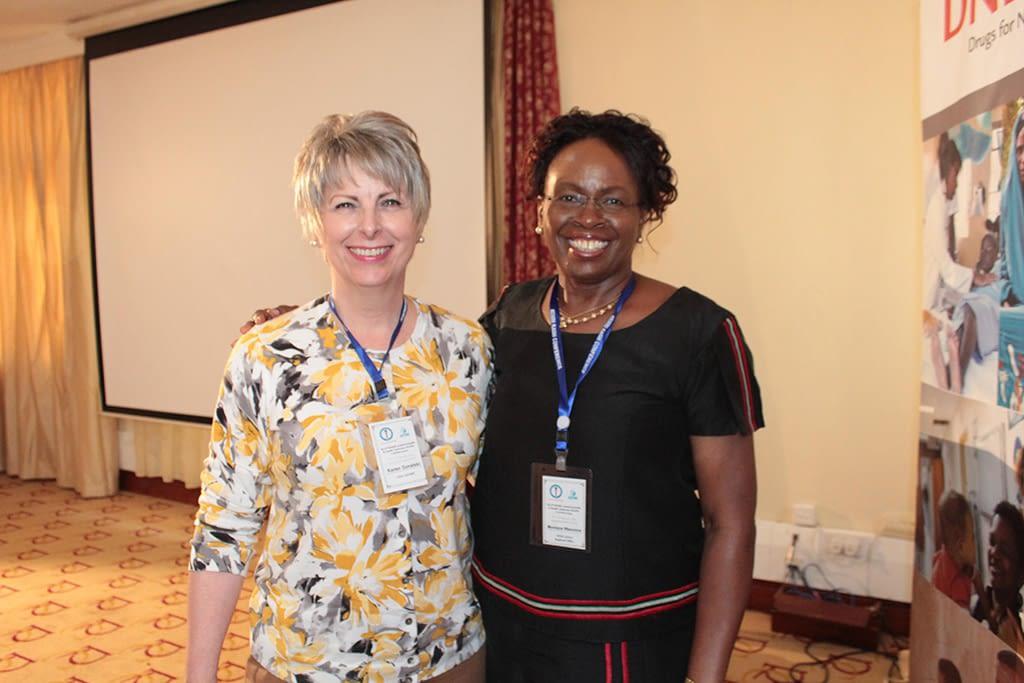 Monique Wasunna and Karen Goraleski