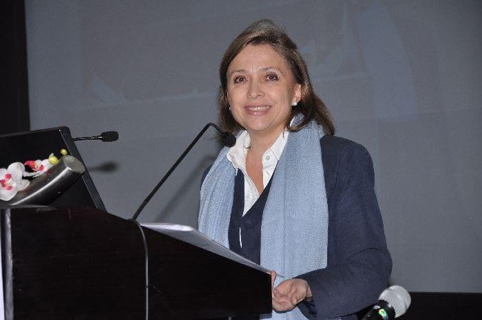The representative of the Swiss Embassy in New Dehli