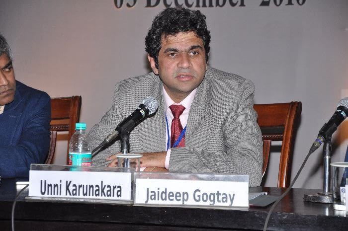 Dr. Jaideep Gogtay, MD, Medical Director, CIPLA, panelist in Session 3