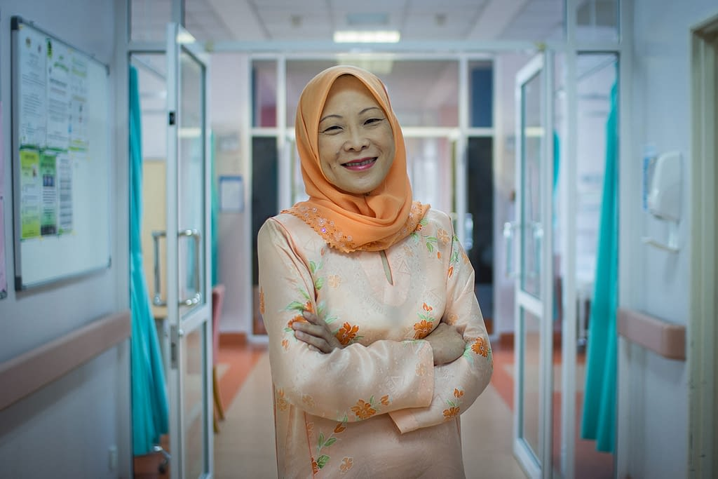 Doctor in a hospital in Malaysia