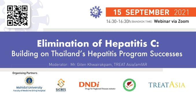 Invitation to hepatitis C webinar