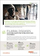 Cover page filarial diseases factsheet
