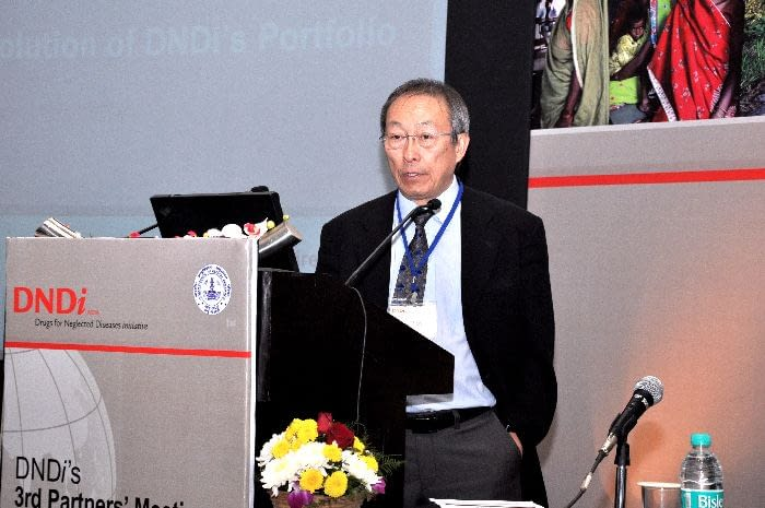 Dr. Shing Chang, R&D Director, DNDi, presenting during Session 4 (Next priorities in terms of diseases: Evolution of DNDi portfolio)