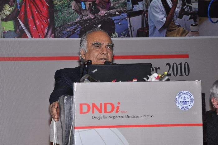 Dr. Nirmal K. Ganguly, Distinguished Biotechnology Fellow and Advisor, Translational Health Science and Technology Institute, India, panelist during Session 3