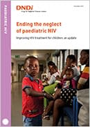 Cover page of the Paediatric HIV 2019 Update