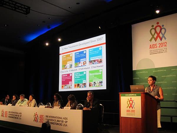 Rachel Cohen speaks at AIDS2012