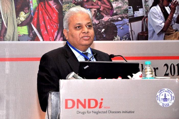 Dr. Rashmi Barbhaiya, CEO, Advinus, presenting during Session 2