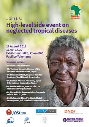 Flyer for the Ticad side event