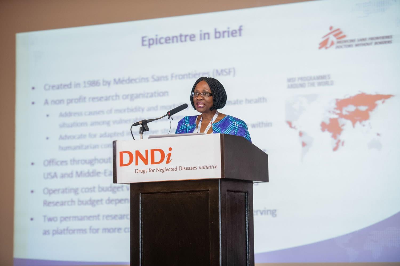 Dr Juliet Mwanga, Director of Epicenter Uganda