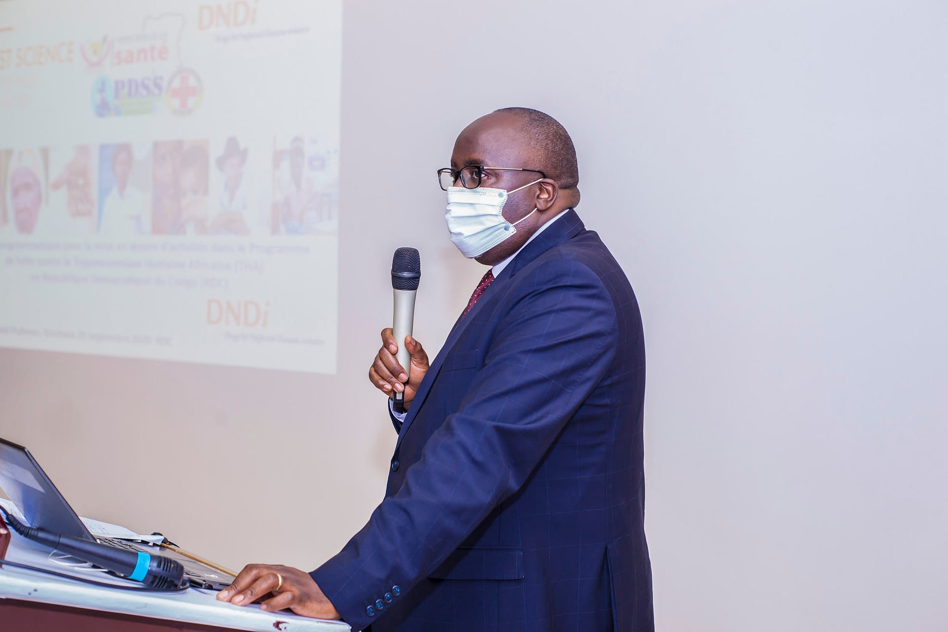 Dr Dominique Baabo Kubuya, coordinateur du PDSS