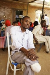 Alsadik Mohamed Musa -a patient who was amputated after having mycetoma for 19 years